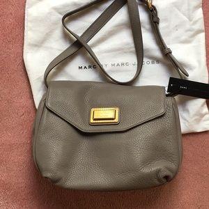 Marc jacobs gravel gray crossbody bag purse